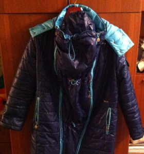 Куртка для беременных и слингоношения i love mum