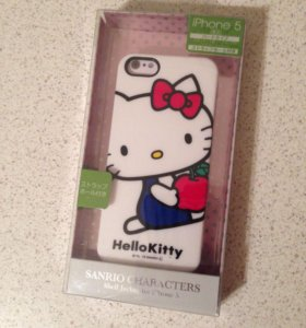 Чехол для iPhone 5/5S hello kitty новый SALE!!!