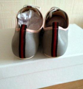 Новые Ботиночки Кожа Италия