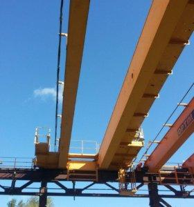 Монтаж и производства кранов мостовых