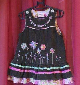 Платья-сарафаны для девочки
