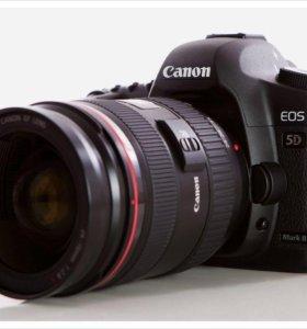 Зеркальная камера Canon 5d mark II (комплект)