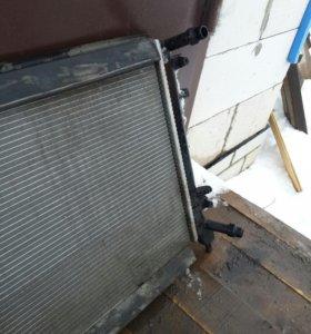 Радиатор охл. Vw jetta 1.4