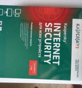 Антивирус Касперский Kaspersky Internet Security