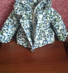 Комплект зимняя куртка и вельветовые брюки