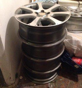 Литые диски на Honda CR-V