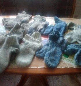 Продам носки от самых маленьких до самых больших р