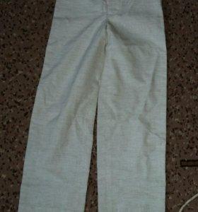 Льняные штаны на мальчика. 90-122