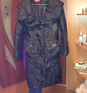 Осенний плащ-пальто 44-46
