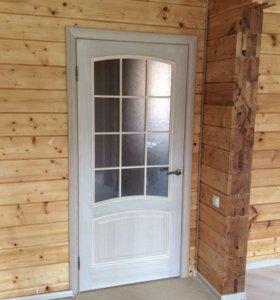 Установка (монтаж)межкомнатных дверей.