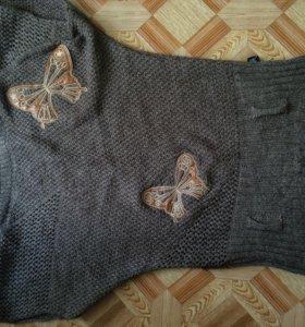 Тёплый свитер 48р
