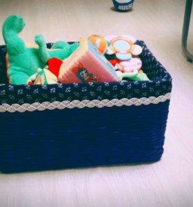 Коробка под игрушки