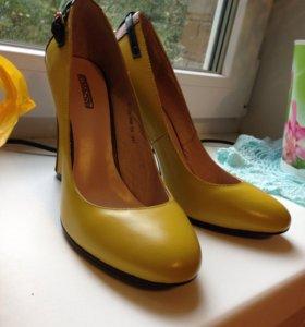 Туфли женские натуральная кожа BASCONI