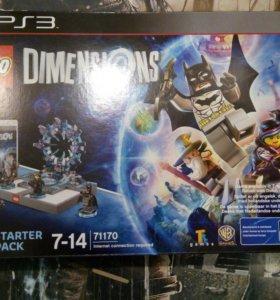 LEGO Dimensions (PS3) так же есть Dimensions PS4