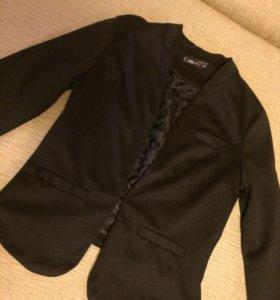 Пиджак жакет новый xs