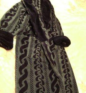 Мужской халат натуральный,отличного качества