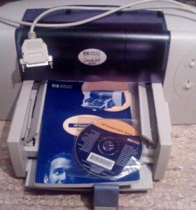 Струйный принтер HP DeskJet 640c б/у