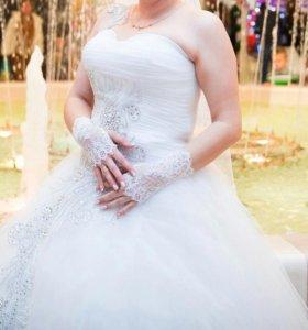 Свадебное платье....