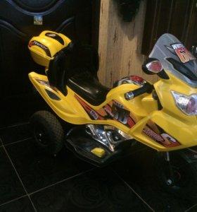 Детский электрон мотоцикл