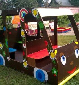Детская машинка для игровых площадок