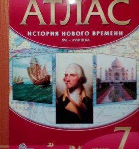 Атлас история 7 класс