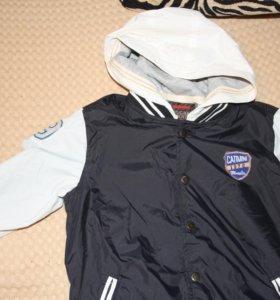 Осенняя куртка для мальчика catimini