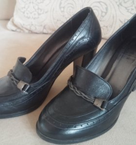 Женские туфли (TERGAN) натуральная кожа