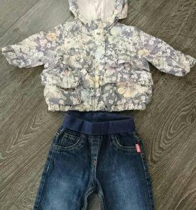 Комплект для девочки брюки mexx