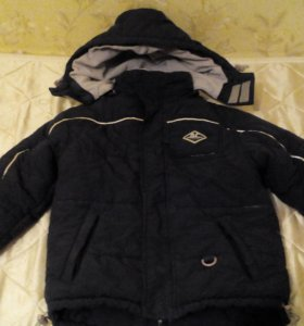 Зимняя куртка р.110-116