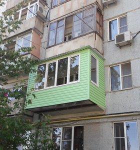 Отделка балконов лоджий т 62-32-05
