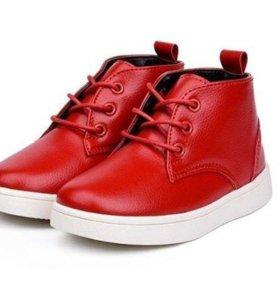 Новые ботинки для девочки