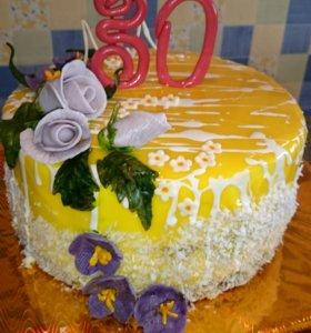 Изготовление тортов и пирожных