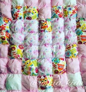 Помпон одеяло