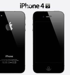 Дисплей Lcd для iPhone 4S чёрный