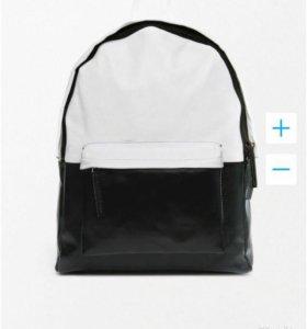 Рюкзак натуральная кожа Asos новый унисекс