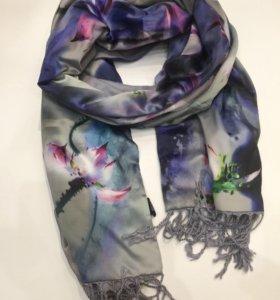 Новый шарф шёлк