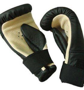 Снарядные перчатки из кожи