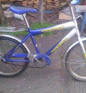 2 велосипеда.