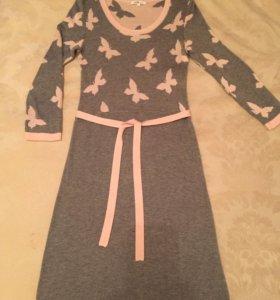Платье Трикотаж. Р 38. OOdji.