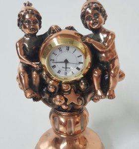 Часы знак зодиака близнецы бронза