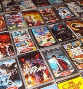 PSP игры для всех моделей .