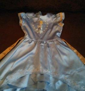 Платье принцессы рост 122