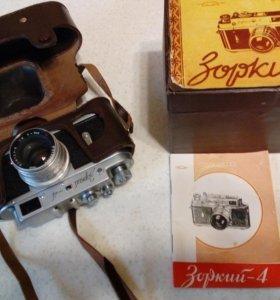 Фотоаппарат СССР 1957 года