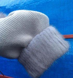 Продаю шапки из меха норки