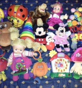 Пакет игрушек от 0+