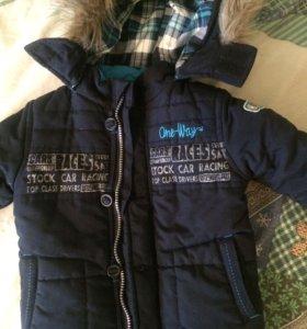 Куртка на мальчика (весенняя) 86р.