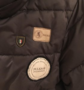Зимняя куртка pulka для мальчика
