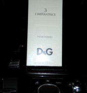 Духи D&G Imperatrice 3