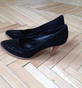 Туфли новые(нат.замша)