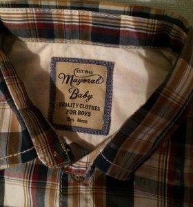 Рубашка 86 размер/18 мес.